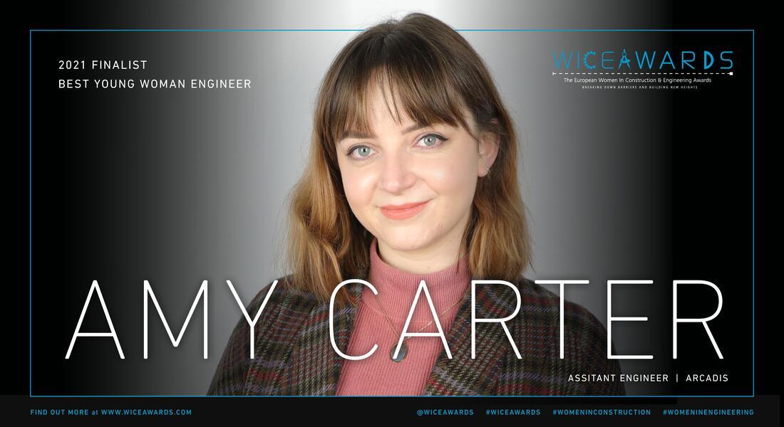 Amy Carter, Arcadis, WICE awards